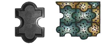 Мозаика шагрень